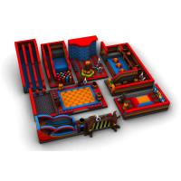 China Screen Printed Inflatable Theme Park Water Resistant For Kids Play wholesale