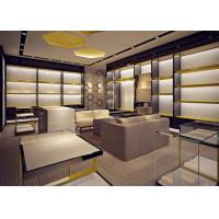 Quality Retail Store Fixtures / Handbag Display Cabinet With Professional 3D Design for sale