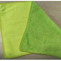 Buy cheap Green Twisted Recombination Terry Fabric Microfiber Dust Mop 25*35cm 480gsm from wholesalers