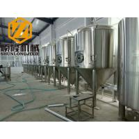 China 30HL Conical Beer Fermenter 304 Material Pressure Tank 72 Degree Cone Angle wholesale