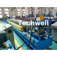 China PLC Control System Cold Roll Forming Machine For Making Rainwater Gutter Roll Forming Machine wholesale