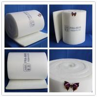 China Painting booth ceiling filter rolls 100% Polyester Material wholesale
