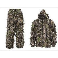 China Camouflage Leafy Hunting Suit Camouflage Leafy Suit Realtree 3D Camo Clothing wholesale