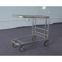 China 2 Layer Foldable Logistics Trolley Plateform Type For Warehouse on sale