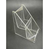 China 2 Tier 4mm Acrylic Stationery Holder Eco-Friendly Book Display Stand wholesale