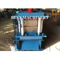 China Hydraulic Punching Shutter Door Frame roll forming machine Gear Box or Chain Type wholesale