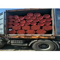 China ASTM A53/ASTM A500 Carbon Metal Steel Pipe With Red Paint And Groove Ends wholesale