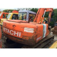 China Japan Hitachi Ex120 Second Hand Excavators , Long Reach Excavator Year 1994 wholesale