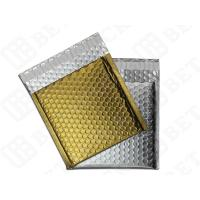 Protective Metallic Bubble Mailer , 6 x 9 Self Adhesive Envelopes