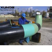 China Blue / green Visco elastic pipeline coating , anti corrosive tape and paste for flange wholesale