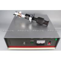 China 20Khz Ultrasonic Oscillator Transducer With Booster Flange Titanium Sonotrode wholesale