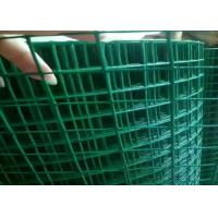 China 3ft 5ft  PVC Coated Welded Wire Mesh Low Carbon Steel For Protection Cage wholesale