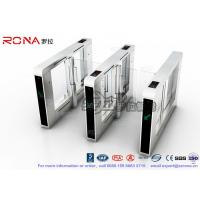 China Luxury Speed Gate Access Control System CE Approved For Office Building With 304 stainless steel wholesale