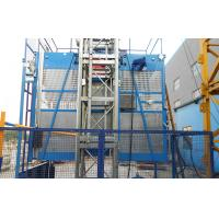 China Rack and Pinion Material Hoisting Equipment ENGINES POWER 2x15kw wholesale