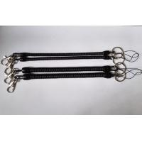 China Standard Black Long Strength Stopdrop Tooling Used in Supermarkets Stores Expander Coil Strap Chains wholesale