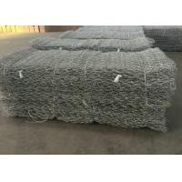 China Twill Weave Gabion Wire Mesh Hot Galvanized Wire Material For River Protection wholesale