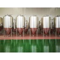 China Top manhole Glycol jacket Dry hopping 5BBL Conical beer fermenter wholesale