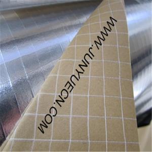 China aluminum foil laminated 2way scrim facing  kraft paper for heat insulation 85g wholesale