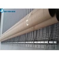 China Architectural Wire Mesh--Tec-Sieve Multi-Barrette Weave/Cable Mesh System wholesale