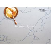 Buy cheap 3m Length 2cm / 3cm Thickness Quartz Stone Countertops Smoothness Compact Structure from wholesalers