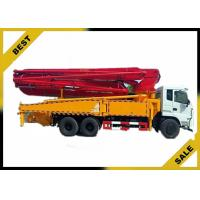 China 33 Meter Diesel Powered  Concrete Boom Pump Truck S Valve Automatic Water Supply wholesale