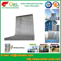 China 35 Ton Petroleum Steam Boiler Water Wall Tubes ORL Power SGS With Hot Water wholesale