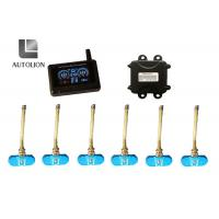 China Anti - Tire Explosion Truck Tire Pressure Monitoring System , Tpms Monitoring System With 4 Sensors wholesale