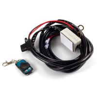 China 2.5m remote control automotive wiring kit with on/off switch for lightbar harness cable wholesale