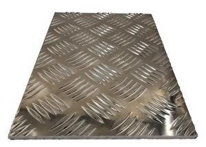 China 5 Bar Tread Plate Aluminum Plate wholesale