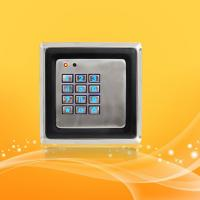 China Smart Home Access Control Card Reader With Password , Metal Material Case wholesale