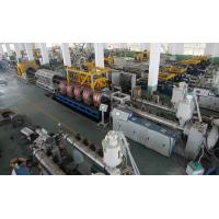 Double Wall Corrugated Pipe Machinery High Speed For HDPE / PP / PVC