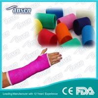 China 4inch Arm Fracture Fiber Fix and Support Fiberglass Casting Tape wholesale