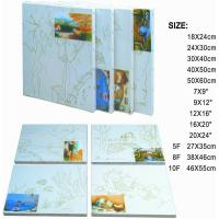 China Premier Art Painting Canvas For Printing 100% Natural Cotton Paulownia Or Fir Wood wholesale