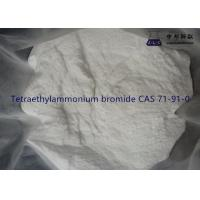 China CAS 71-91-0 Industrial Chemical Solvents Tetraethylammonium Bromide White Crystal wholesale