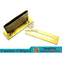 China Roulette / Blackjack Poker Game Accessories Slot Cover Installed On The Table wholesale