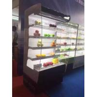 China Slim Curve Glass Grocery Multideck Open Chiller Showcase Danfoss Compressor wholesale