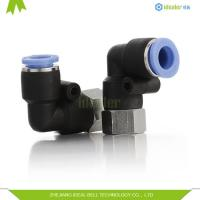 China Quick Connecting Female Elbow Pneumatic Tube Fittings on sale