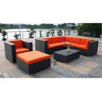China 9pcs 2017 rattan wicker modular sofa set ottoman single chair coffee table --9226 wholesale