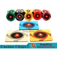 China 3.3mm Thickness 12 - 32g Casino Poker Chips / Customized Ceramic Chip Can be custom wholesale