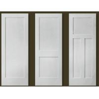 China Australian white PVC coated interior MDF wooden flush door , wood door wholesale