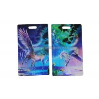 Quality Personal Custom Design 3D Lenticular Card / Luggage Tag Plastic for sale