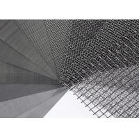 China SS 316 304 Stainless Steel Wire Mesh / Woven Wire Mesh Panels Solvent Resistant on sale