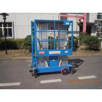 China 8m Hydraulic Scissor Working Platform Double Mast For Window Cleaning wholesale