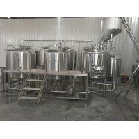 Quality Small Complete Home Brewing System Conical Fermenters Optional For Beginners / for sale