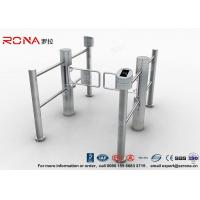 China Double Core Biometric Pedestrian Security Gates Stainless Steel With Access Control wholesale