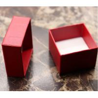 China Red paper ring boxes wholesale