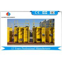 Buy cheap 3.0 * 1.5 * 2.3 m Frequency Galvanized Construction Hoist Elevator SC200/200G product