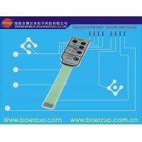 China PET / PC 3M Adhesive Membrane Switch Graphic Overlay for Control Panels wholesale