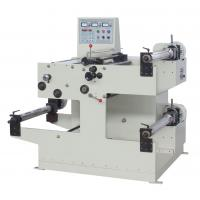 China 100m/min Auto Slitting Machine , 550mm Width Web Label Slitting Machine on sale