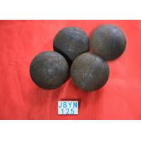China Grinding Resisting Hot Rolling Steel Balls for Copper Mine / Gold Mine , Dia 125mm wholesale